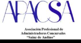 Asociación Profesional de Administradores Concursales Sainz de Andino (APACSA) - Spain